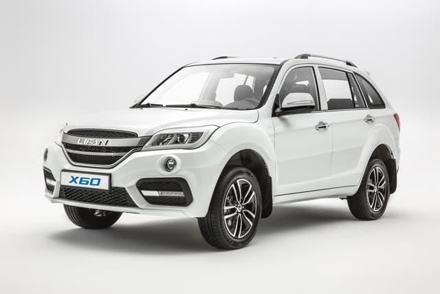 El X60 es el voluminoso SUV de Lifan