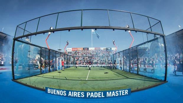 El escenario del Buenos Aires Padel Tour en La Rural