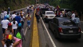 Comienza la Toma de Caracas entre obstáculos revolucionarios. Foto Twitter: @VPLuchaSocial