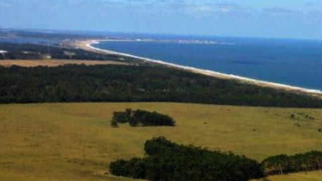La estancia El Entrevero tiene 150 hectáreas y cuenta con una playa al océano Atlántico. Foto: Archivo