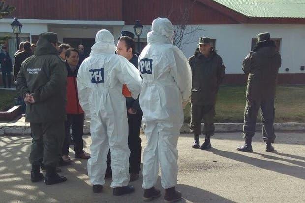 La policía Federal hizo allanamientos en Esquel