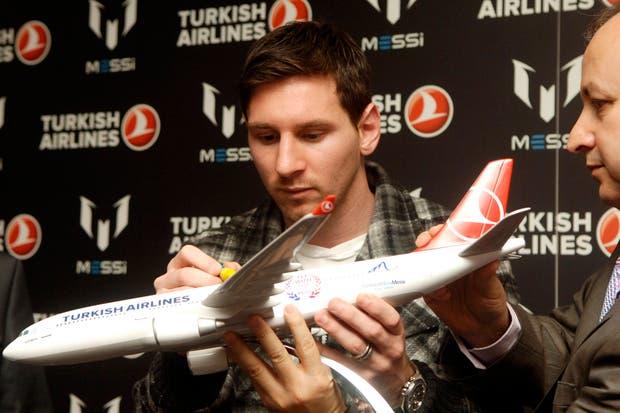Messi dijo que está bien y fue un susto