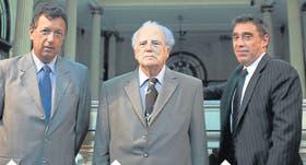 Alberto Dalla Via , Rodolfo Emilio Munné y Santiago H. Corcuera