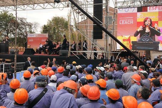 Zafra azucarera en JujuyEl 1 de agosto desembarcó en Jujuy para poner en marcha el ingenio La Esperanza, un emprendimiento con capitales públicos, privados y con participación de los trabajadores. Foto: Télam