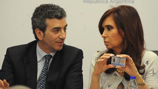 El ex ministro del Interior Florencio Randazzo y la ex presidenta de la Nación Cristina Kirchner