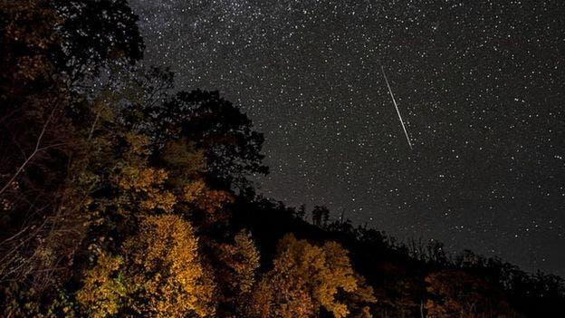 Los meteoros ya son visibles, aunque con menor intensidad, desde el 2 de octubre y será posible seguir observándolos hasta el 7 de noviembre