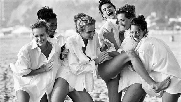Supermodelos: la toma, inicialmente rechazada por la editora Grace Mirabella, fue publicada por Anna Wintour