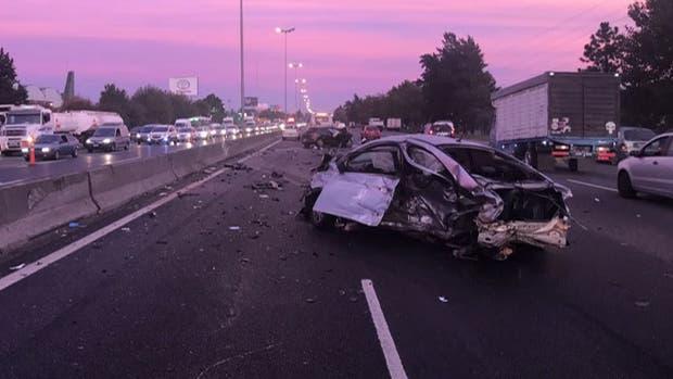 Trágico amanecer en la Panamericana: tres muertos en distintos accidentes