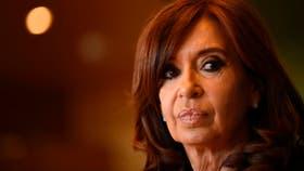 La ex presidenta de la de Nación Cristina Kirchner
