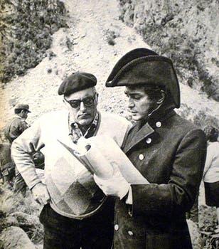 En 1970, encarnó a San Martín en El Santo de la espada. Foto: Archivo