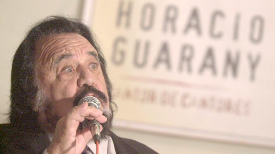Horacio Guarany (1925-2017). Foto: Archivo / Ezequiel Pontoriero / DyN