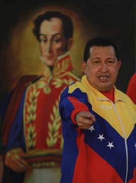 En un encuentro con atletas en el palacio presidencial en Caracas. Foto: Archivo