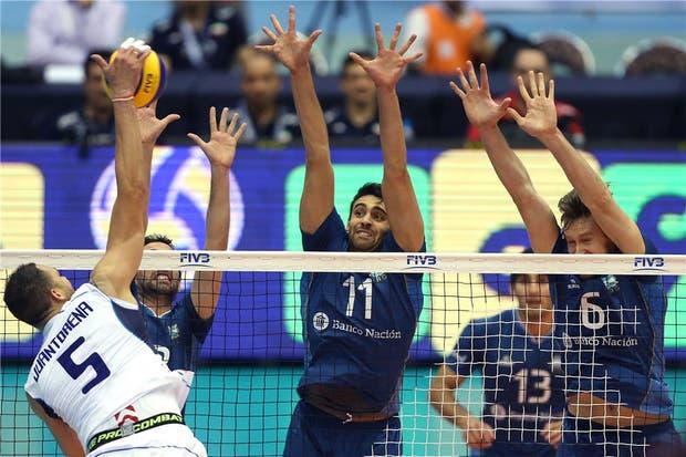 Argentina cayó ante Italia en Teherán