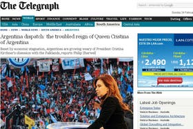 El artículo fue publicado en la edición de hoy del diario inglés