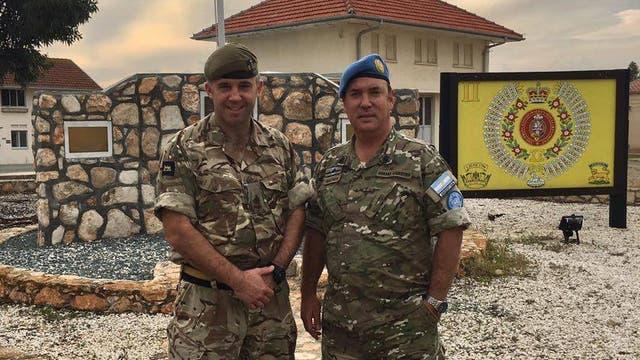 El hallazgo generó una amistad entre ambos militares