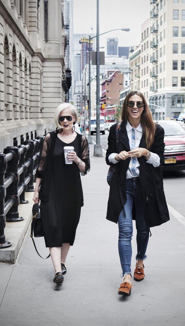 Lyn Slater y Lu Vilariño por el SoHo neoyorquino