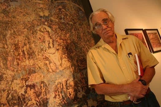 El artista plástico fue premiado por los críticos de arte del país por su polémica retrospectiva, realizada en el Centro Cultural Recoleta en 2005. Foto: Archivo