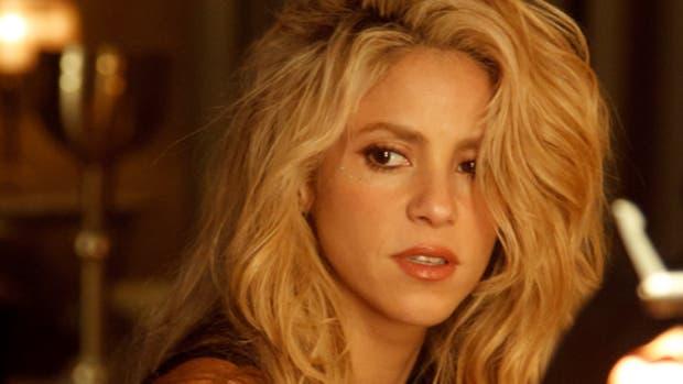 Shakira en un parque de Nueva York