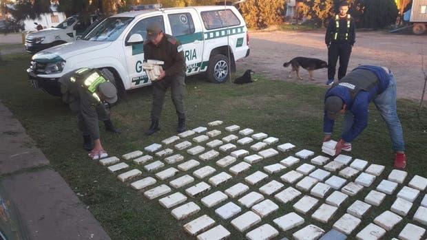 La Gendarmería concretó uno de los golpes al narcotráfico en Santa Fe