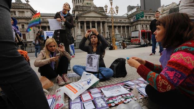#NiUnaMenos: el sábado estará marcado por distintas actividades contra la violencia de género y los femicidios. Foto: LA NACION / Ricardo Pristupluk