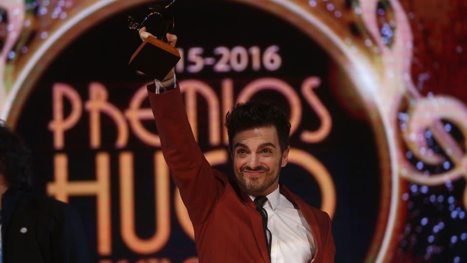 Ale Sergi se llevó el premio a mejor música original por su trabajo para Yiya, el musical. Foto: Fabián Marelli