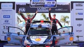 El belga Tgierry Neuville concretó la remontada y se adjudicó el Rally Mundial de la Argentina
