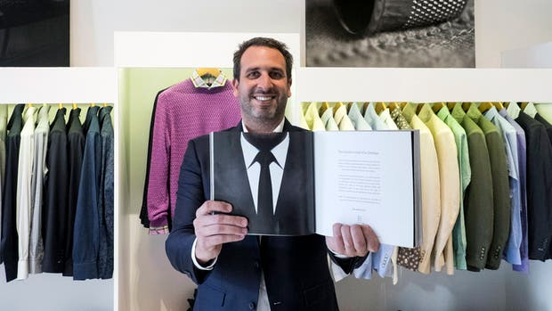 Nicolás Márquez, de 34 años, cambió los agronegocios por el mundo de la moda