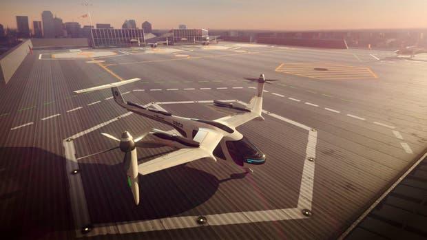 Uber se asocia con la NASA para tener taxis voladores