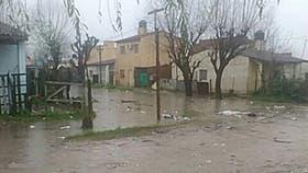 El barrio La Matera, en Quilmes, quedó bajo el agua