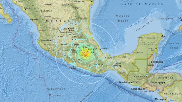 Terremoto en México: un fuerte sismo de 7,1° en la escala Richter estremeció al país: hay más de 135 muertos