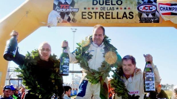Hace un tiempo corrió entre glorias de TC y ganó; con él, Romero