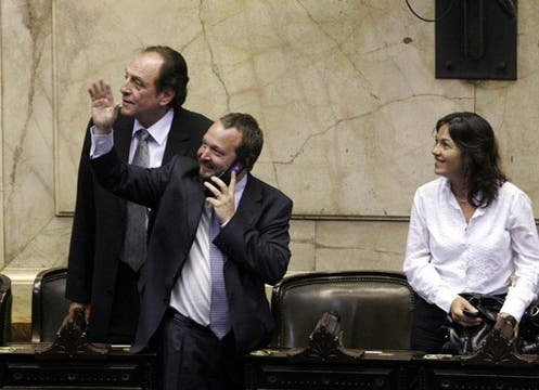 La oposición se presentó puntualmente, y sin la presencia del oficialismo ya había quórum. Foto: DyN