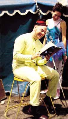 Toto Castiñeiras, clown de proyección internacional