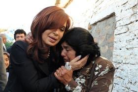 Cristina Kirchner volvió a hablar hoy de la vecina de La Matanza a quien visitó ayer