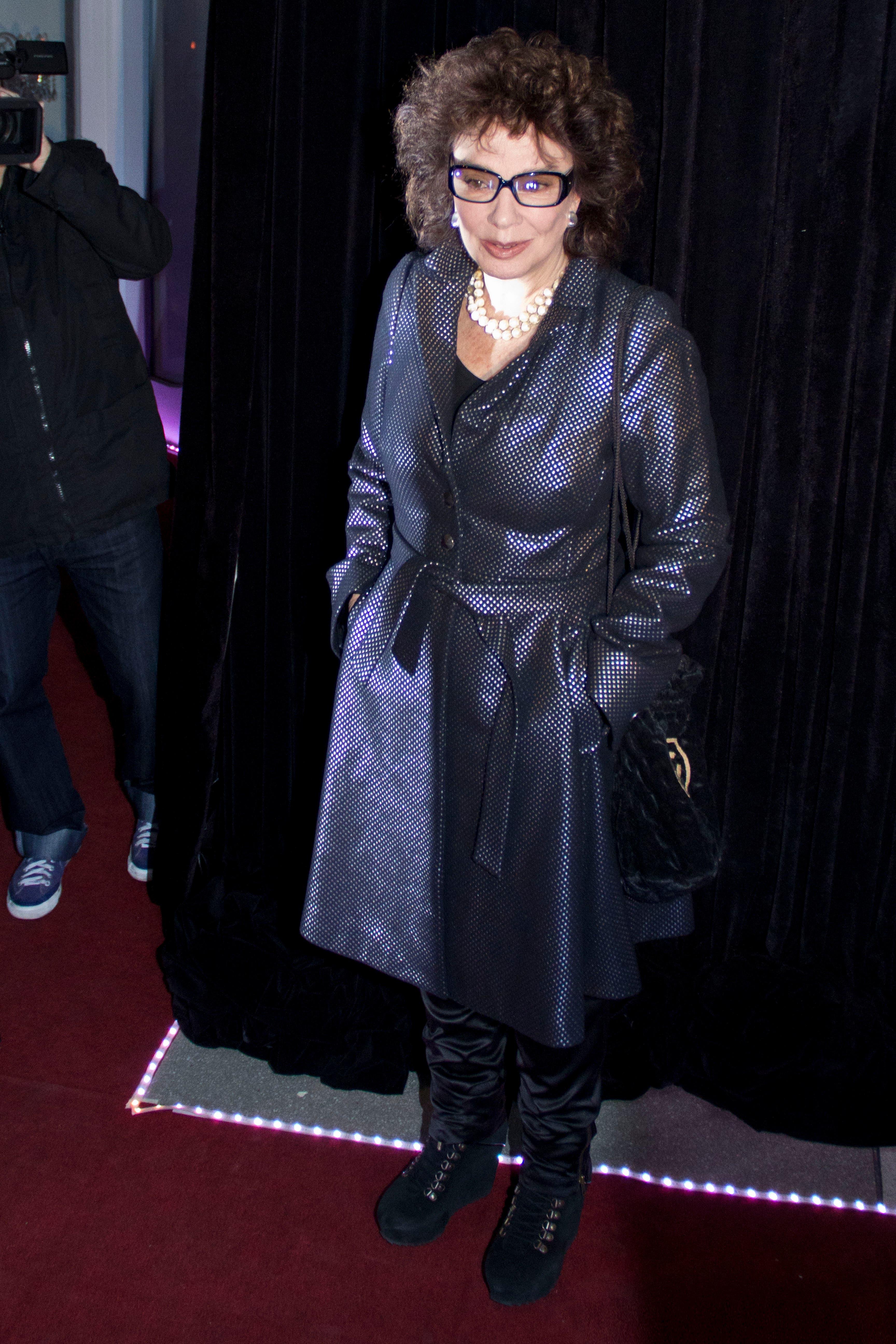 Graciela Borges, en la alfombra roja. Foto: /hola.com.ar