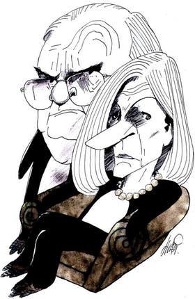Ernesto Laclau y Chantal Mouffe