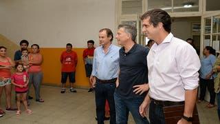 'Es la primera vez que un mandatario viene a Concordia cuando hay un momento crítico', aseguró el gobernador de Entre Ríos