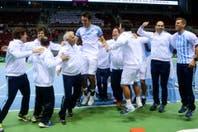 El festejo, desde adentro: así se vivió el triunfo de Mayer y la clasificación a cuartos de final