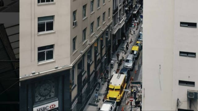 """Congestión"", Monserrat. Foto: Andrea Grevex"