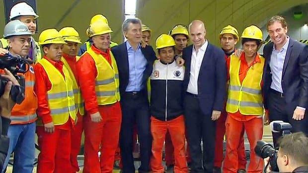Macri inaugura la línea H junto a Larreta