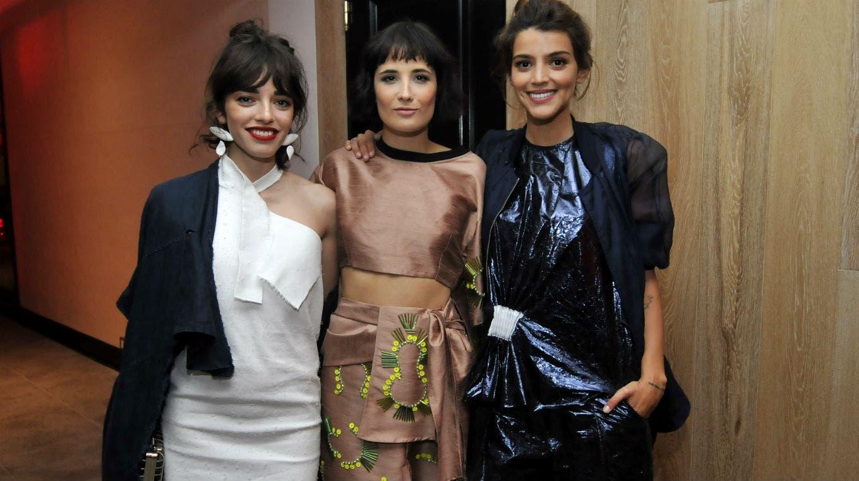 Belén Chavanne, Flor Torrente y Calu Rivero marcaron tendencia con sus looks vanguardistas. Foto: /Gerardo Viercovich