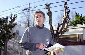 García Barcelona dijo que sólo quería podar las ramas de los árboles de la vereda