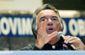 Barrionuevo se movilizará pasado mañana al Ministerio de Trabajo
