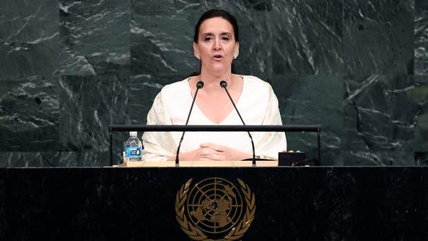 Michetti en la ONU