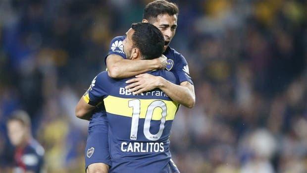Tevez y Carrizo, dos que ya no están