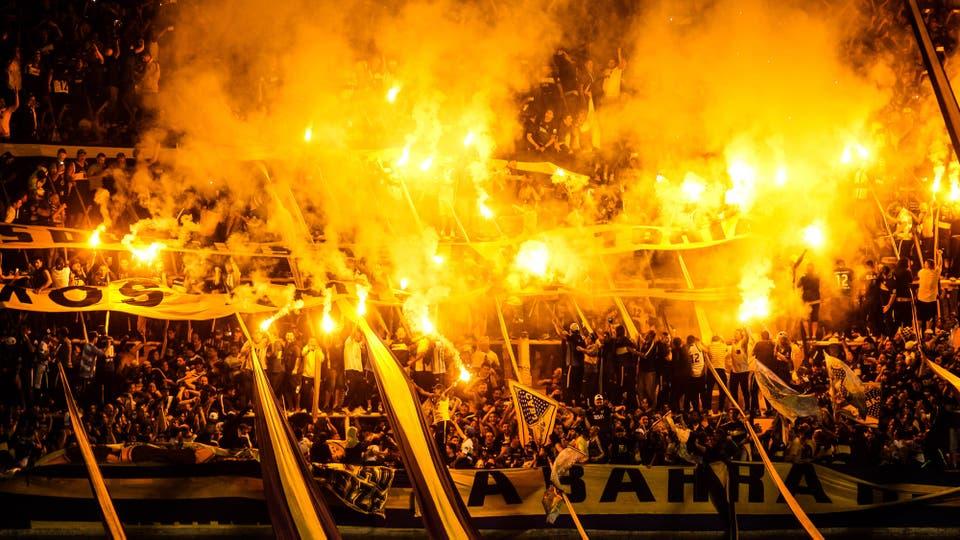 Las mejores imágenes de Boca campeón y la fiesta en la Bombonera. Foto: LA NACION / Mauro Alfieri