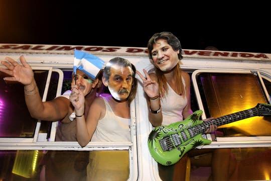 La ocurrencia y originalidad de los que participaron en la protesta del #8N. Foto: DyN