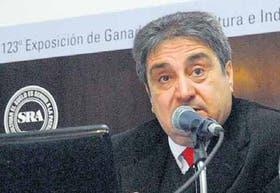 Mario Bragachini, especialista del INTA
