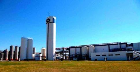 En Moldes, Córdoba, está una de las plantas inactivas de la empresa