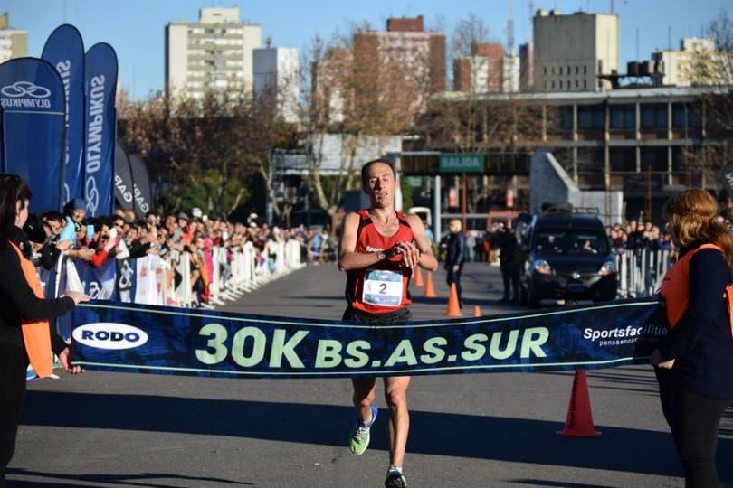 Mastromarino, triunfal en los 30k Buenos Aires Sur